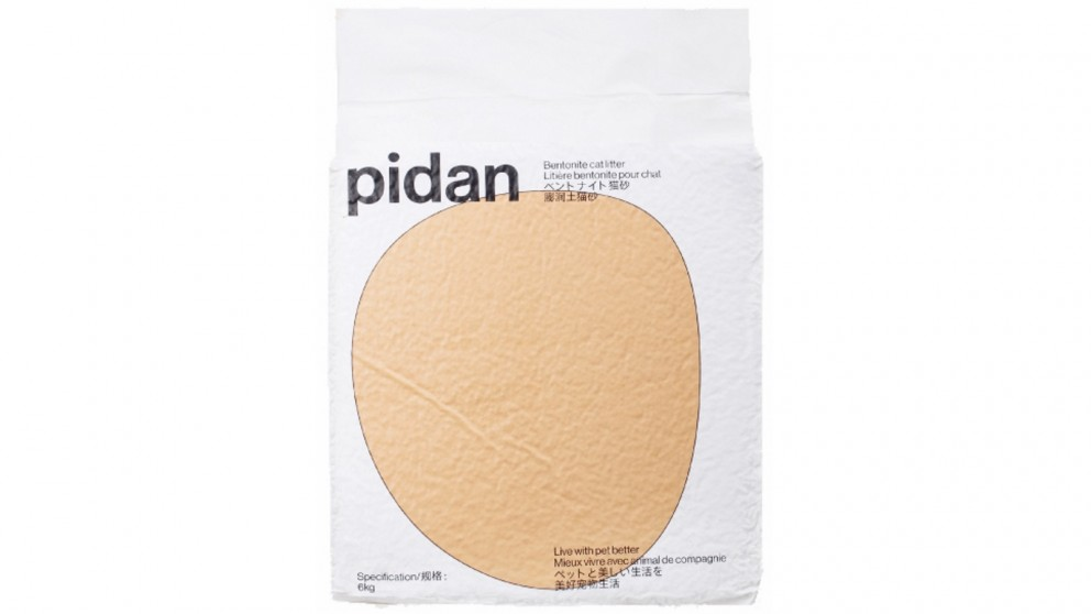 Pidan Original Bentonite Cat Litter - 6kg/bag