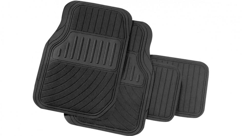 Carfit Perfect Fit Rubber Car Floor Mat 4 Piece Set