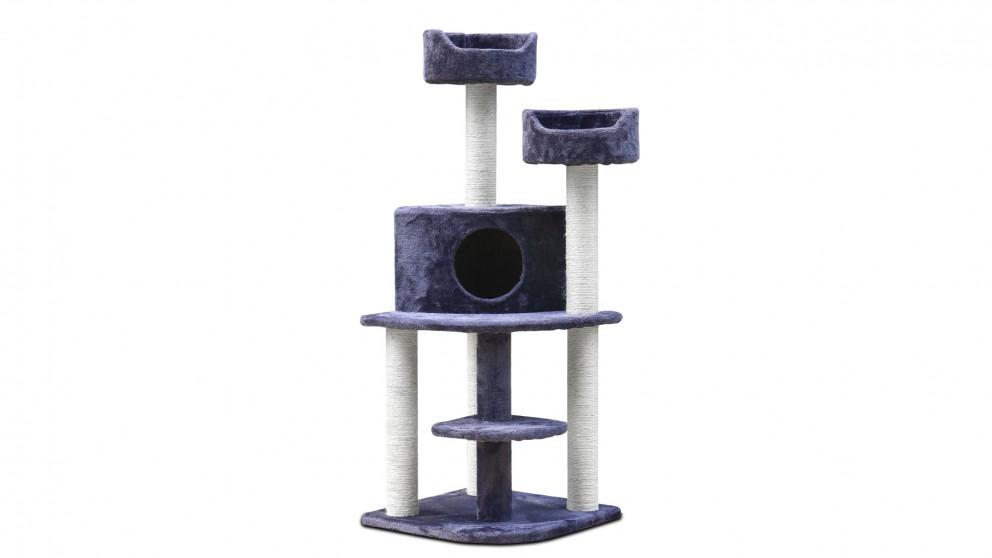 i.Pet 126cm Cat Scratching Tree - Grey
