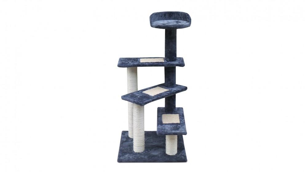 i.Pet 100cm Multi Level Cat Tree - Grey