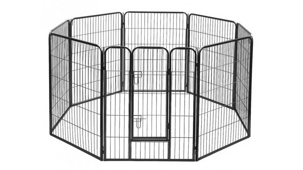 i.Pet 80 x 100cm 8 Panel Pet Dog Playpen