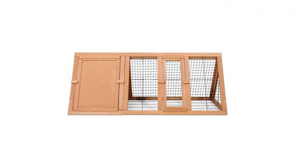 i.Pet Wooden Rabbit Hutch Guinea Pig Chicken Ferret Pet Cage