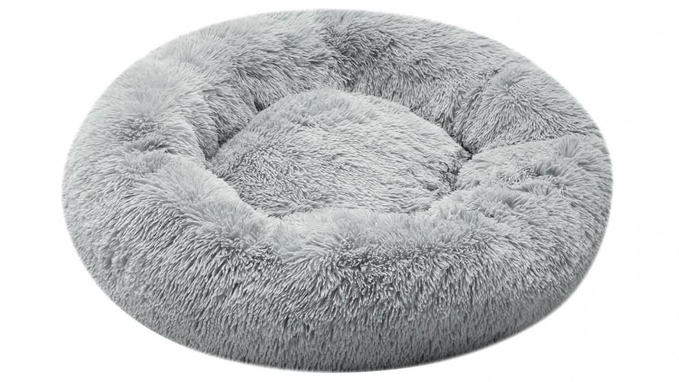 Cooper & Co. Pet 70cm Medium Round Soothing Pet Bed - Grey