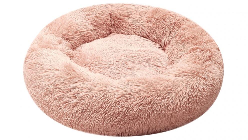 Cooper & Co. Pet 70cm Medium Round Soothing Pet Bed - Pink
