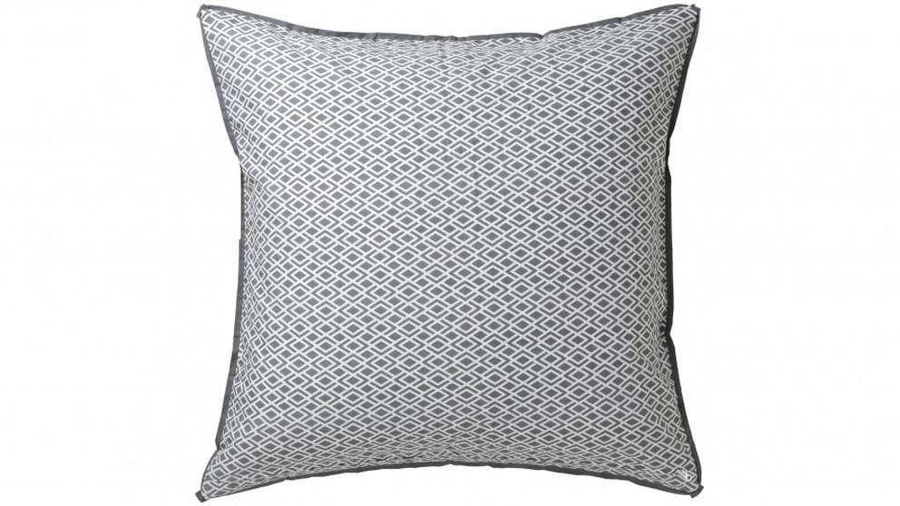 Peyton Silver European Pillowcase