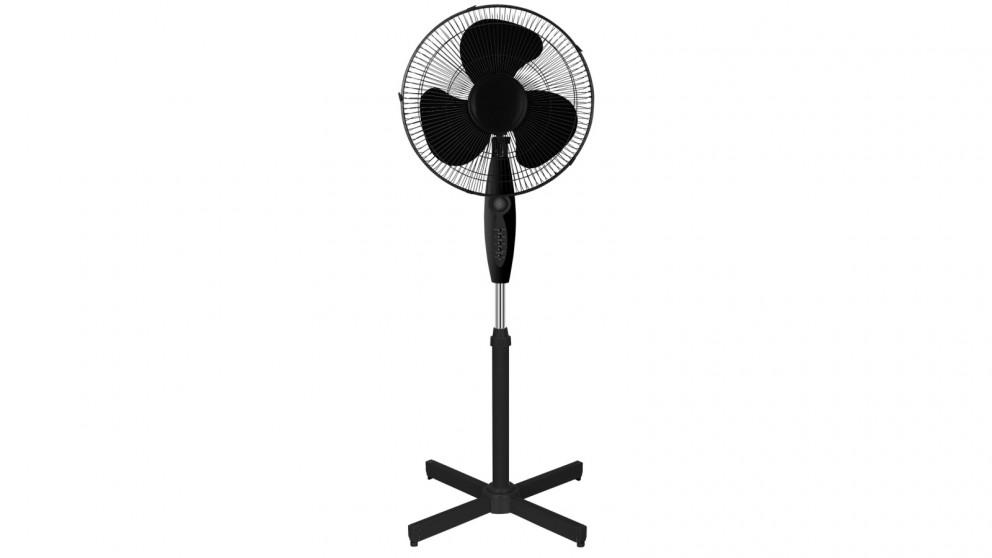 Heller 40cm Pedestal Fan - Black