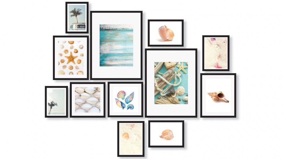 Cooper & Co. Instant Gallery Wall 12-Piece Frame Set - Black