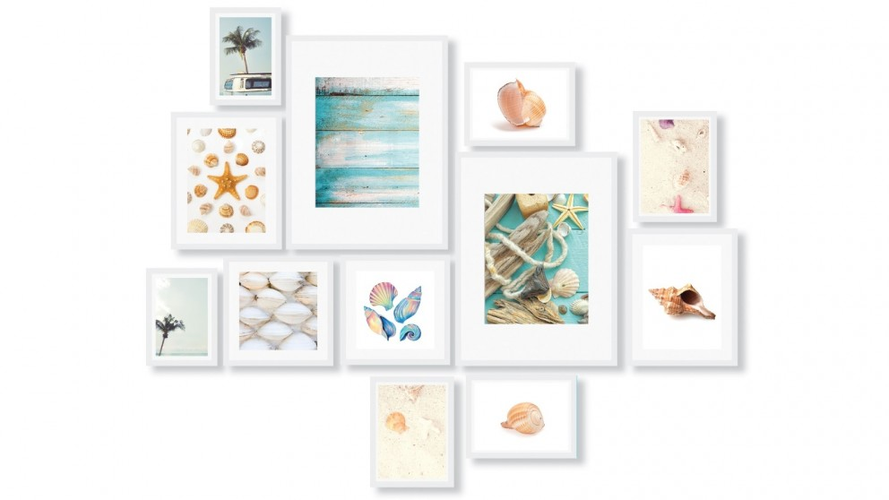 Cooper & Co. Instant Gallery Wall 12-Piece Frame Set - White