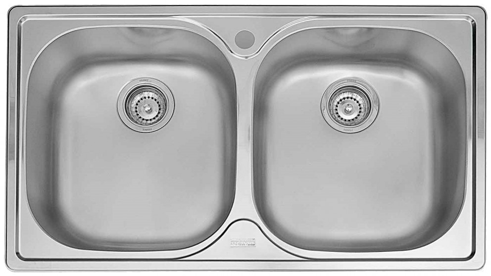 Buy Franke 90cm Under-mount Double Sink | Harvey Norman AU
