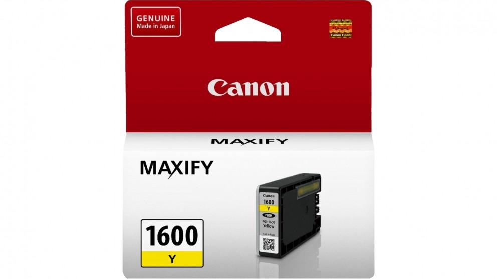 Canon PGI-1600 Ink Cartridge - Yellow