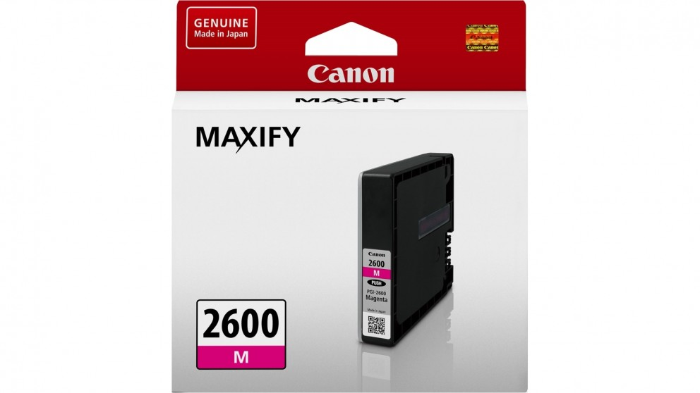 Canon PGI-2600 Ink Cartridge - Magenta