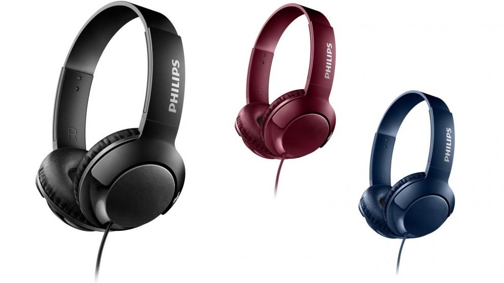 Philips SHL3070 Bass+ On-Ear Headphone