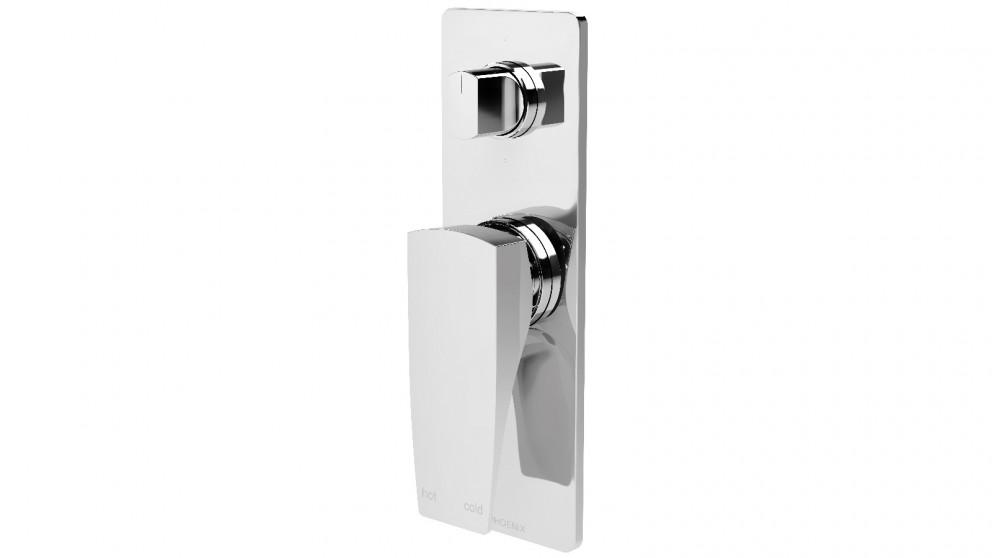 Phoenix Argo Shower/Bath Diverter Mixer - Chrome