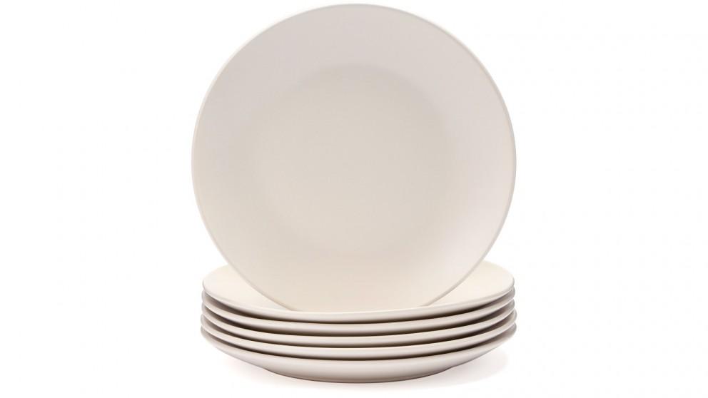 Cooper & Co. 26cm Annisa Dinner Plate Ivory - Set of 6