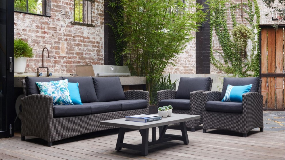 Tonic 4 Piece Outdoor Lounge Setting Part 93