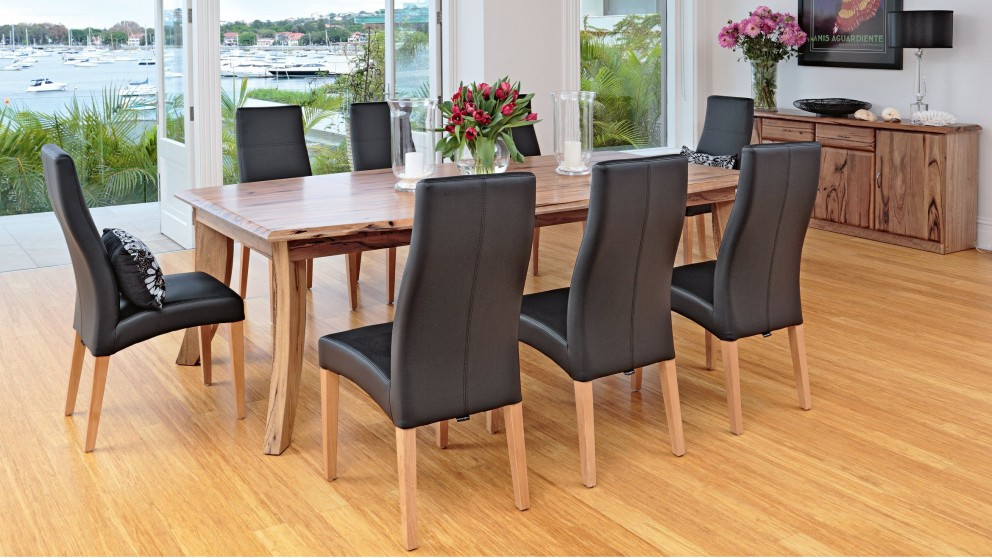 soprano 9 piece dining setting - dining furniture - dining room