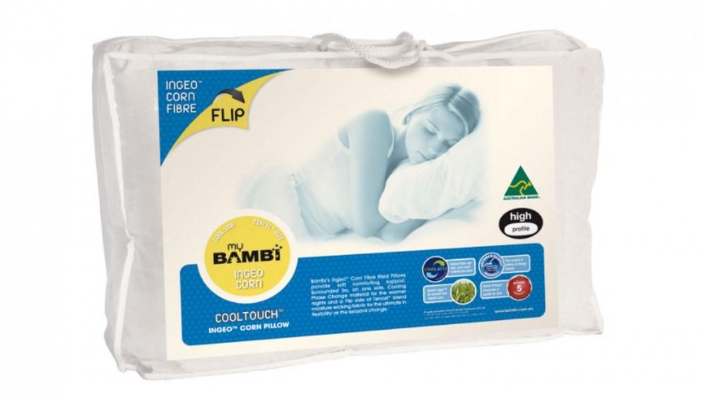 Bambi Cool Touch Ingeo Corn Fibre Flip Pillow - Standard