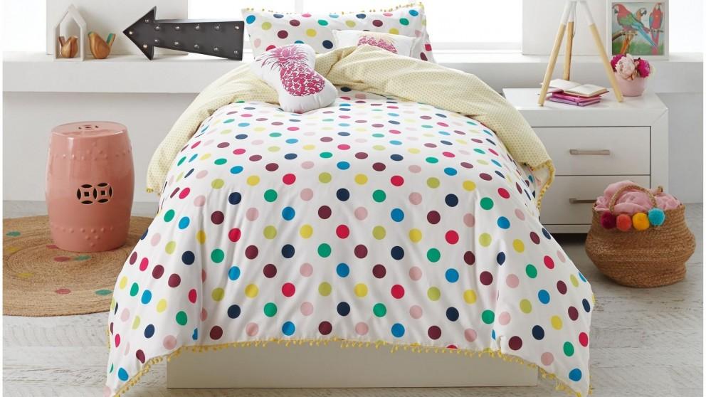 Dotty Pink Spot King Single Sheet Set