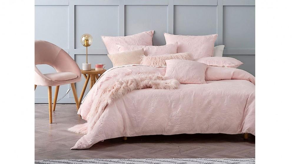 Cheap Cavello Pink Queen Quilt Cover Set Harvey Norman Au