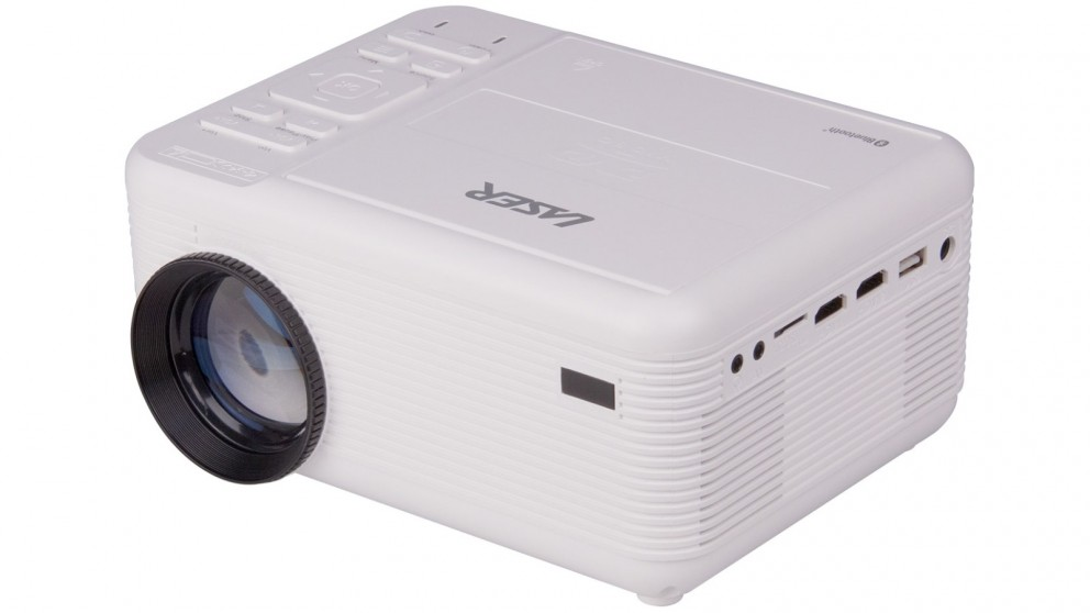 Laser 2-in-1 Multimedia Projector with Built-in DVD Player