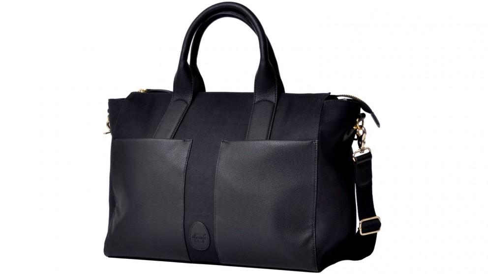 PacaPod Croyde Shoulder Nappy Bag - Black