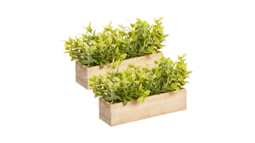 Cooper & Co. 20cm Artificial Greenery Centerpiece - Pack of 2