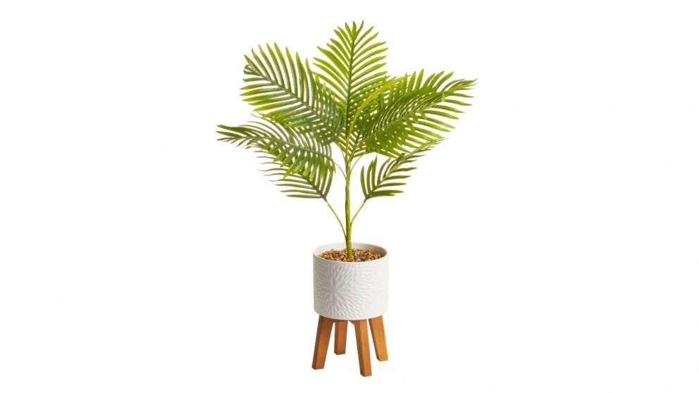 Cooper & Co. Artificial Palm Plant In Ceramic Pot - 85cm