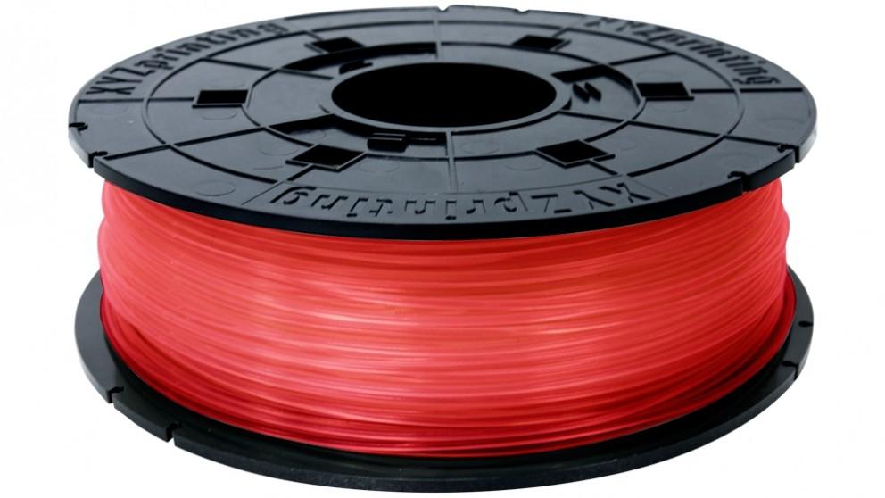 Da Vinci Jr/Mini Series 600G Printer PLA(NFC) Filament - Clear Red