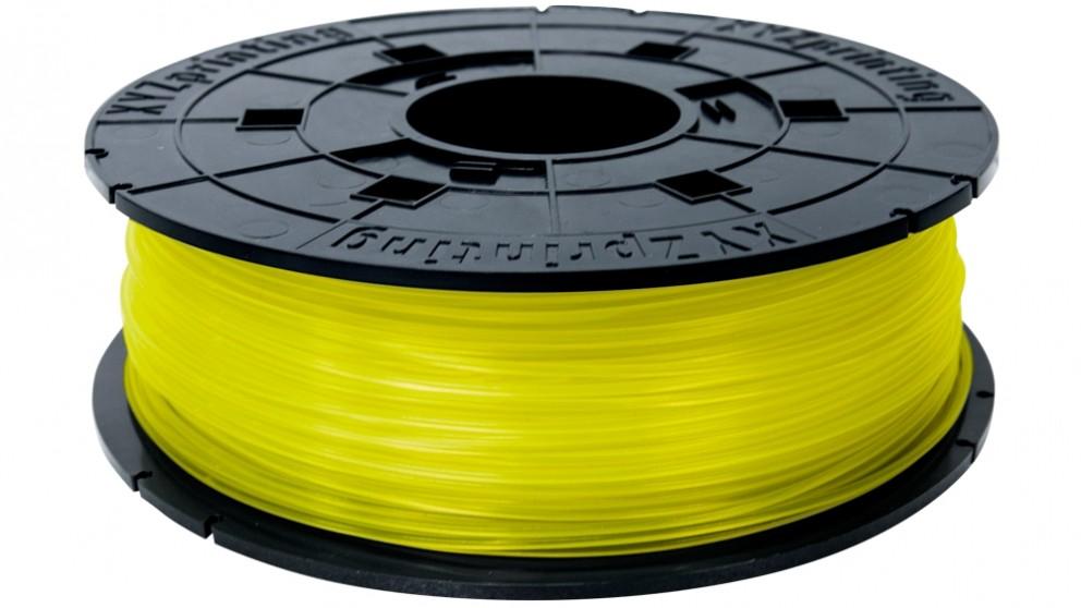 Da Vinci Jr/Mini Series 600G Printer PLA(NFC) Filament - Clear Yellow