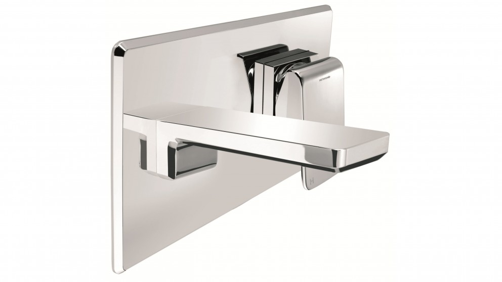 Methven Kiri Wall Basin Mixer with Plate
