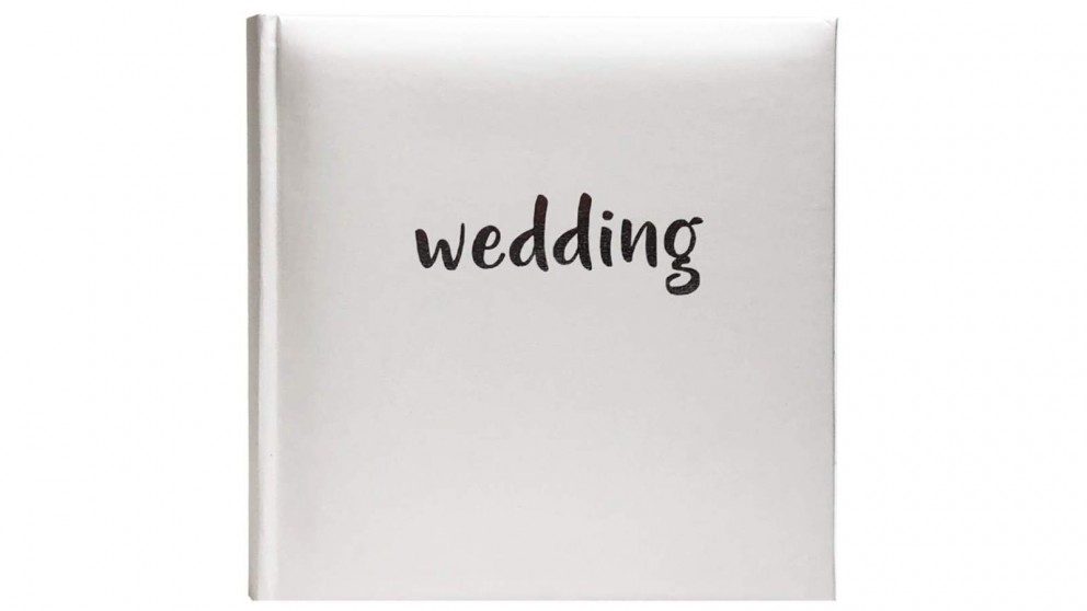 Platinum Moda Wedding 300x365mm Photo Album with 80 Drymount Pages