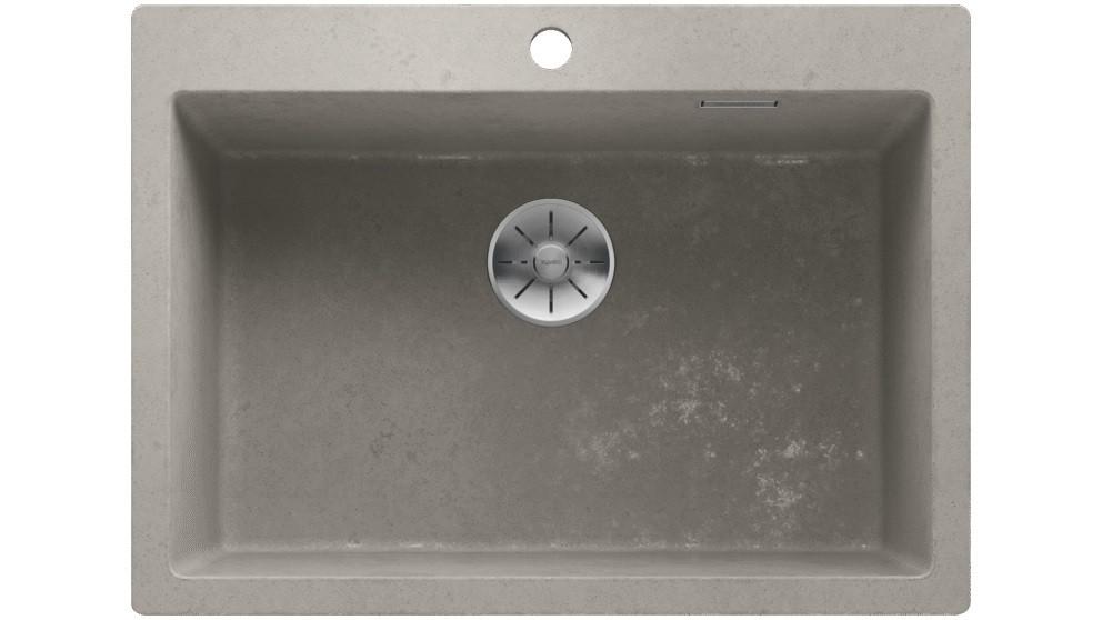 Blanco PLEON 8 Single Bowl Inset Sink - Concrete