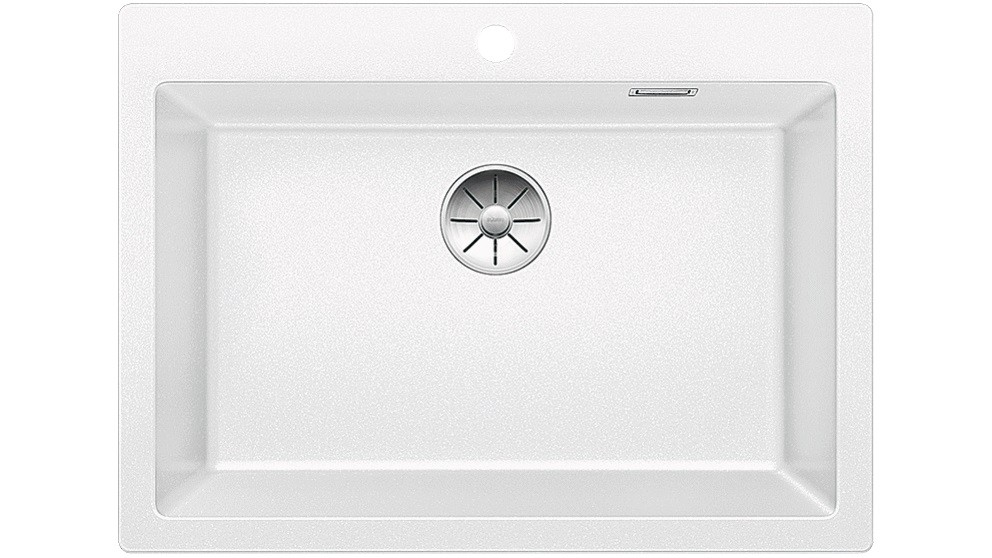 Blanco PLEON 8 Single Bowl Inset Sink - White