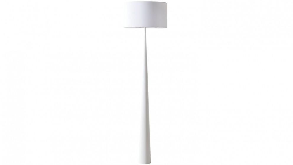 Buy Denver Floor Lamp - White   Harvey Norman AU