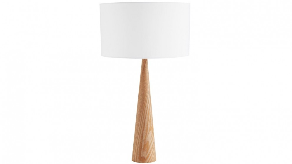 Denver table lamp natural with norman lighting