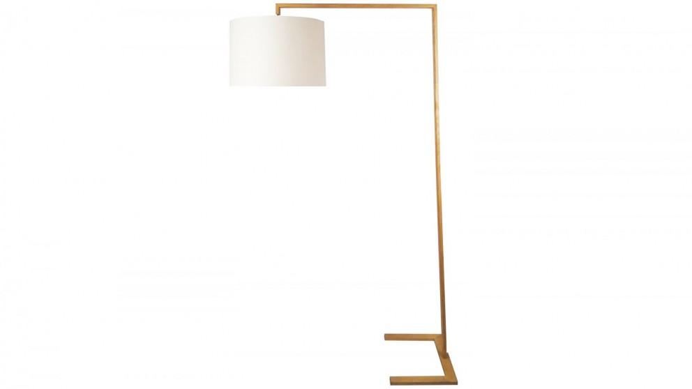 Buy davon floor lamp white harvey norman au for Lamp table harvey norman