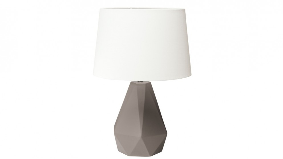 Ryker Grey Bedside Lamp