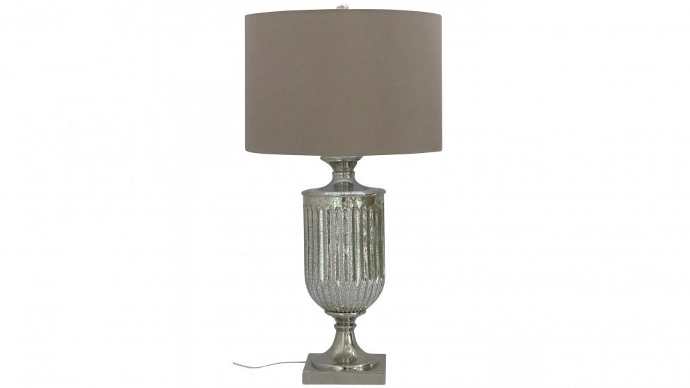 Ornate Champagne Bedside Lamp
