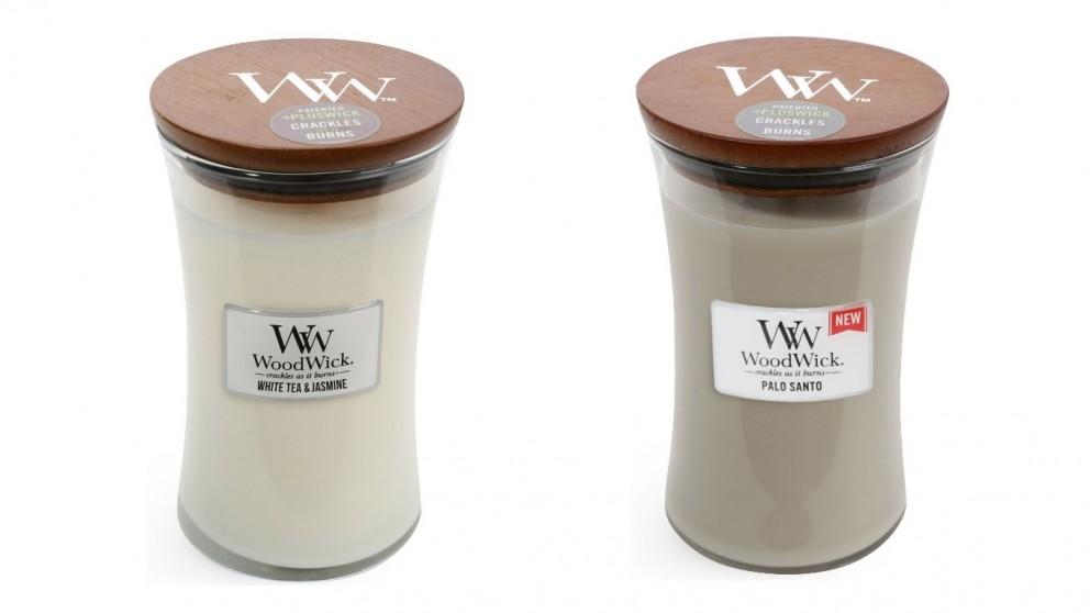 Woodwick Pluswick Large Candle