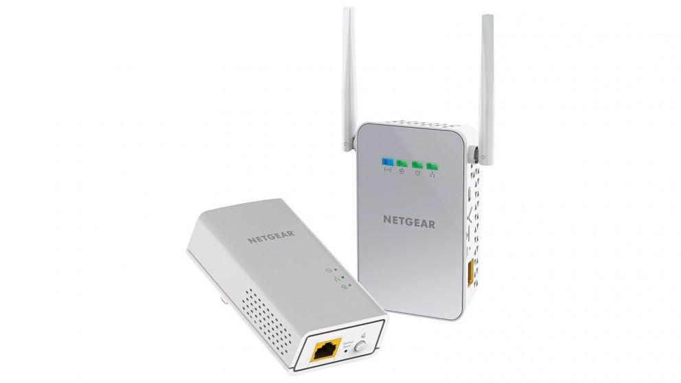 Netgear PLW1000 PowerLINE 1000 + WiFi Range Extender