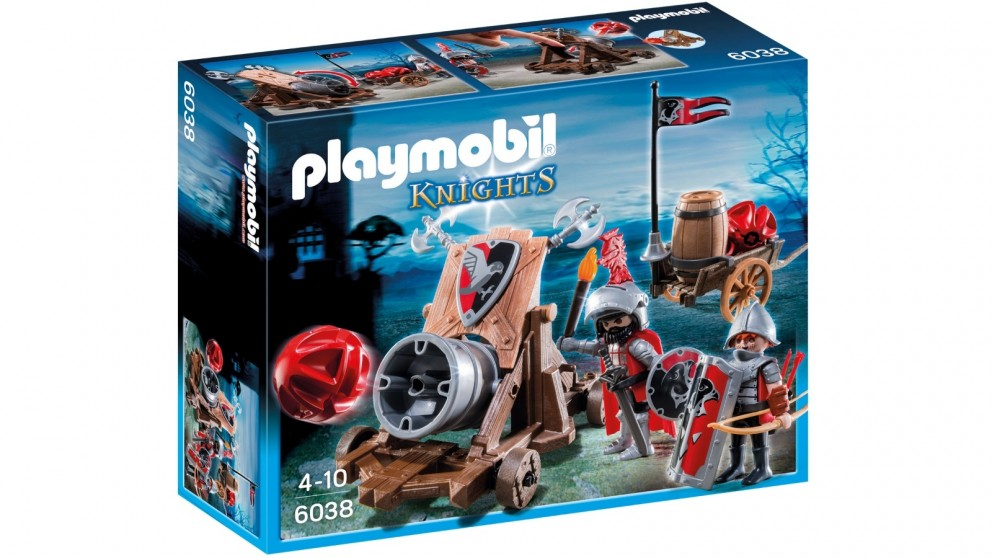 Playmobil Hawk Knight's Battle Cannon