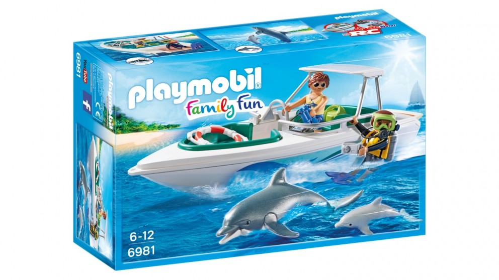Playmobil Diving Trip with Speedboat