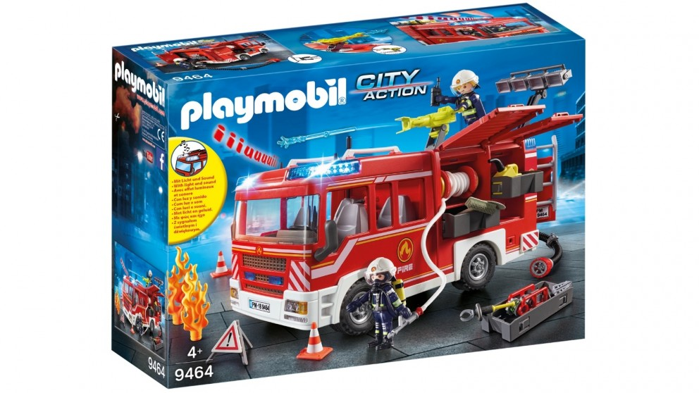 Playmobil Fire Engine