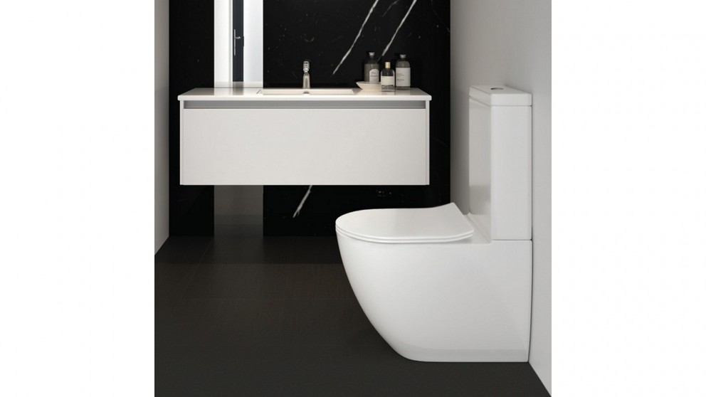 Parisi Ellisse MK II Back To Wall Toilet Suite