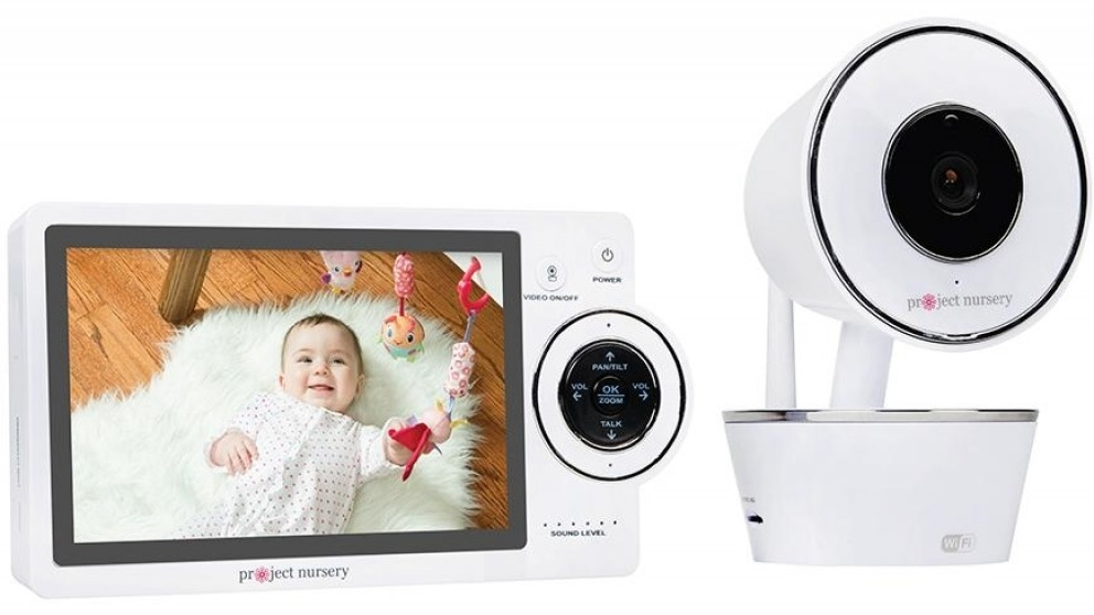 Project Nursery 5-inch WiFi Video Baby Monitor with Remote Access