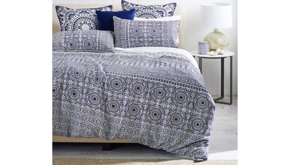 Portugal Blue Quilt Cover Set