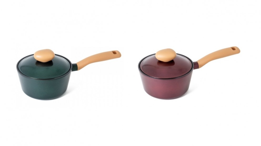 Neoflam Retro Jewel 18cm Saucepan 1.8L Induction with Die-Casted Lid