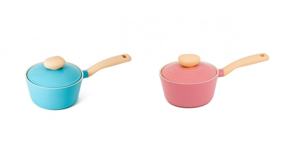 Neoflam Retro 18cm Saucepan 1.8L Induction with Die-Casted Lid