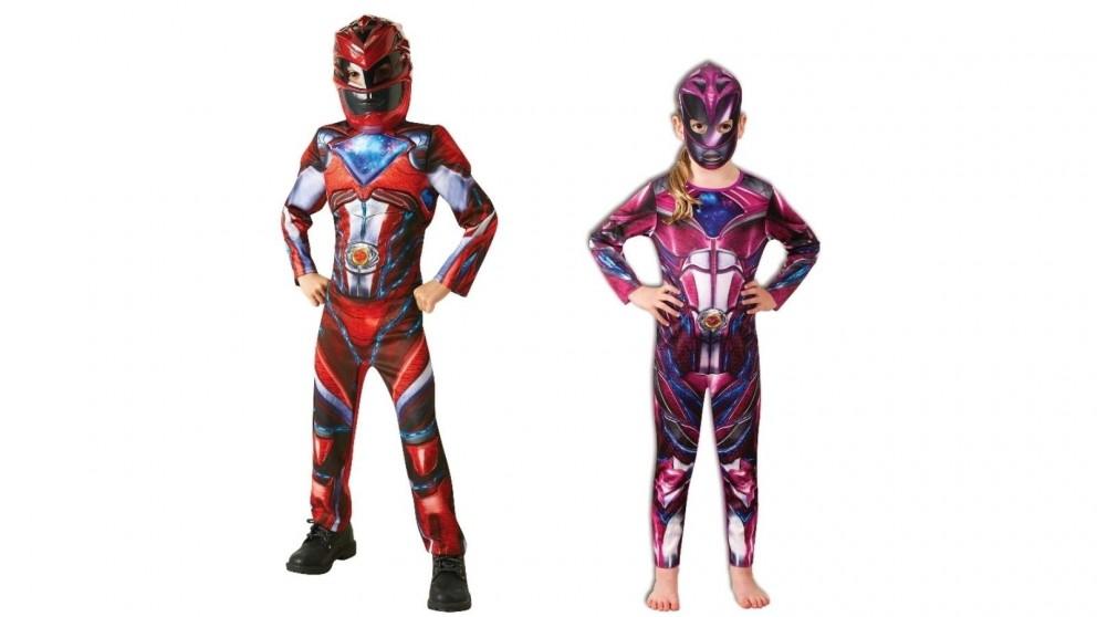 Power Rangers 6-8 Years Child Costume - Medium
