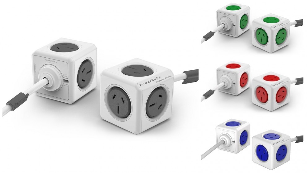 Allocacoc Powercube Extended with 1.5m Cable